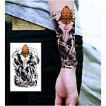Elephant King Tattoo Stickers Temporary Tattoos(1 Pc)