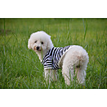 Red/Black/Green/Blue/Yellow/Orange Cotton T-Shirt For Dogs