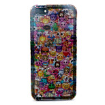 Expression  Pattern with shimmering TPU Soft Case for iPhone 5/iPhone 5S