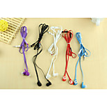 Classic 1.0 Headphone 3.5mm In Ear 100cm for iPhone/Samsung/Huawei/Millet/Red Rice/HTC (Assorted Color)