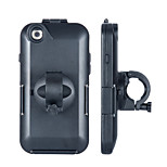 Shockproof Bike Bicycle Handlebar 360-degree Rotary Mount Holder Case Bag for iPhone 6 (Black)