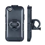 Shockproof Bike Bicycle Handlebar 360-degree Rotary Mount Holder Case Bag for iPhone 6 (Black)