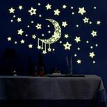 Cartoon / Romance / Fashion / Landscape / Shapes / Fantasy Wall Stickers Luminous Wall Stickers Decorative Wall Stickers / Height Stickers