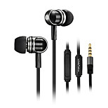 High Quality 3.5mm In Ear Headphones Volume Control Earphone with Microphone for iPhone 4/4S 5/5S 6/6 Plus