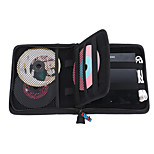 Protective Nylon Travel Case for External Hard Disk Drive USB DVD CD Blu-Ray Rewriter / Writer