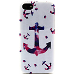 coco fashion design fun® ancore tribale disegno tribale tpu IMD caso della copertura posteriore per iPhone 5 / 5s
