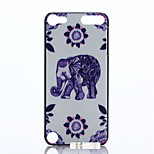 Elephant Pattern PC Hard Case for iPod Touch 5