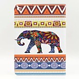 Elephant Pattern PU Leather Full Body Case with Stand for Ipad Air 2 Ipad 6