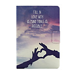 Hands of Love Pattern PU Leather Full Body Case for iPad mini/mini2/mini3