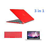 Crystal 3 in 1 Full Body Case with Keyboard Cover and HD Screen Protector for Macbook Air 13.3