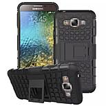 Heavy Duty hybrid dopad případ robustní silikonové ks zbroj Pouzdro pro Samsung Galaxy E7 / E5 (různé barvy)