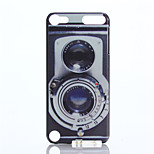 Camera Pattern PC Hard Case for iPod Touch 5
