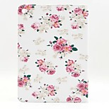Peony Flower PU Leather Full Body Case with Stand for Ipad Air 2 Ipad 6