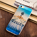 Easy Building Pattern TPU Soft Case for iPhone 5/5S