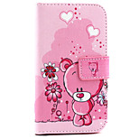 Cubs Pattern PU Leather Material Card Full Body Case for Samsung Galaxy Grand Prime G530 / GALAXY CORE Prime G360