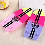 Summer Hit the Color Gradient Fashion Surf Board Silicone Shell for iPhone 5/5S(Assorted Colors)