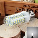 e27 6w 750lm 6000k / 3500k 69-SMD 5730 llevó blanco / caliente de la lámpara de maíz de luz (110v)