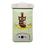 Classical Owls Pattern Transparent Waterproof Touchscreen for iPhone 6 Plus