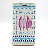 Clover Pattern PU Leather Full Body Case with Card Slot and Stand for Sony Xperia M2