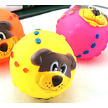 Belfor Lion Face Funny Ball Pet Supplies  Chew Toy