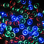 10M Solar Powered String Fairy Light for Party Wedding Garden Christmas Light Holiday Outdoor Decoration