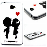 Love Each Other  Pattern TPU Phone Case for Sony E4