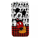 Mickey Mouse Pattern TPU Soft Case for iPhone 6 Plus