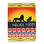 Hakuna Matata Pattern PU Leather Full Body Case with Stand for Ipad Air 2