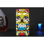 Cool Doodle Skull Style Luminous Plastic Case for iPhone 6