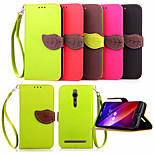 High Quality Wallet Card Holder PU Leather Flip Case Cover for Asus Zenfone 2/ Asus Zenfone 5(Assorted Colors)