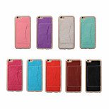 4.7 Inch Luxury PU Leather Case Back Cover with Stand for iPhone 6/6S(Assorted Colors)