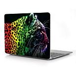 Colorful Leopard Design Full-Body Protective Plastic Case for 12