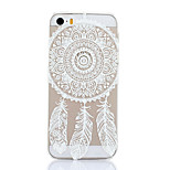 Campanula Pattern Hard Back Case for iPhone 5/5S