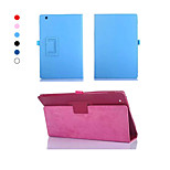 Dengpin 10.1 Inch PU Leather Litchi Texture with Stand Cover Case Skin for Sony Xperia Z4 Tablet (Assorted Colors)