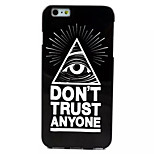 Eye Pattern TPU Soft Case for iPhone 6 Plus
