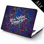 la vida es el diseño nada funda protectora de cuerpo completo de 11 pulgadas / 13 pulgadas de aire nuevo macbook