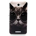 Eye cat  Pattern TPU Soft Case for Sony E4
