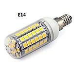 Lâmpada Espiga E26/E27 7 W 450 LM K Branco Quente/Branco Frio 69 SMD 5050 AC 220-240 V