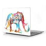 Water Colorful Elephant Design Full-Body Protective Plastic Case for 12