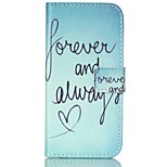 Fashio Design COCO FUN® Green Word Pattern PU Full Body Leather Case Cover for iPhone 6