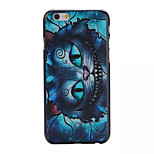 Blue Cat Pattern PC Phone Case For iPhone 6