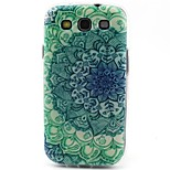 Green Flowers Pattern TPU Material Soft Phone Case for Samsung Galaxy S3 S4 S5 S6 S6 edge S5mini