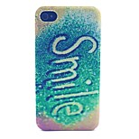 Smile Pattern PC Material Phone Case for iPhone 4/4S