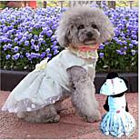 ABPET Lovely Dog's Wedding Dress