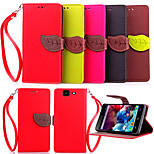 High Quality Wallet Card Holder PU Leather Flip Case Cover for Wiko HIGHWAY 4G (Assorted Colors)