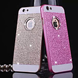 Diamond Bling Glitter Back Cover Case with Hole for iPhone 4/4S(Assorted Colors)