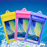 Velcro Strap Transparent Waterproof Touchscreen for iPhone 6 /5/5S /4/4S/5C/6 Plus  (Assorted Colors)