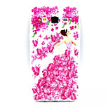 Flowers  Pattern TPU Painted Soft Back Cover for Galaxy J5/ J7