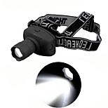 1 Mode 500 Lumens Headlamps AAA Waterproof LED Camping/Hiking/Caving/Cycling/Hunting/Traveling