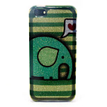 Elephant Pattern Glitter TPU Material Soft Phone Case for iPhone 5/5S